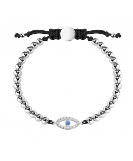 La Petite Story Bracelet with boules ss devil eye with c