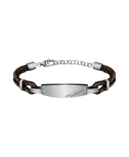 Sector Bandy br. ss+brown leather string 22cm