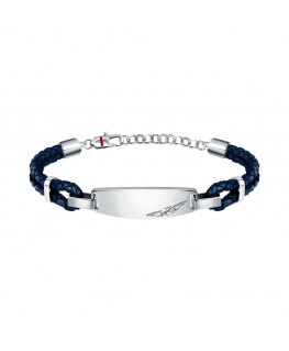 Sector Bandy br. ss+blue leather string 22cm