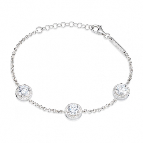 Morellato Tesori argento br.white zircons arg.925 donna SAIW05