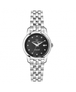 Orologio Philip Watch Anniversary diamanti nero - 30 mm