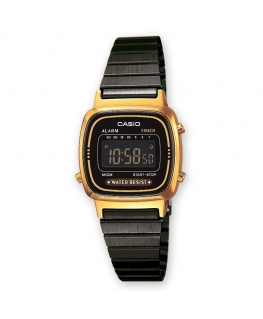 Orologio Casio Vintage mini nero / oro - 26 mm