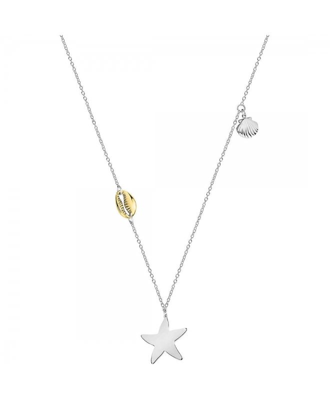 Morellato Gipsy pend. long ss star yg ciprea shell femminile - galleria 2