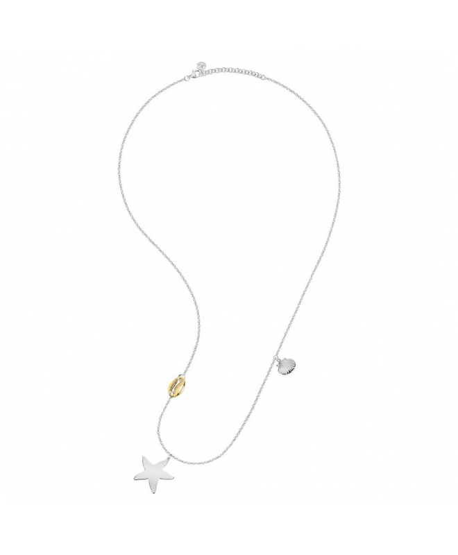 Morellato Gipsy pend. long ss star yg ciprea shell femminile - galleria 1
