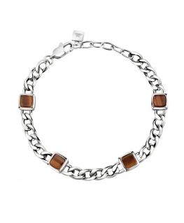 Bracciale Morellato Lux marrone - 21 cm