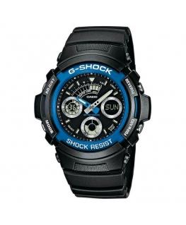 Orologio Casio G-Shock nero / blu - 46 mm