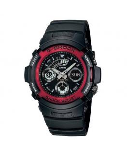 Orologio Casio G-Shock nero / rosso - 46 mm