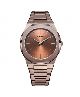 Orologio D1 Milano Ultra Thin chocolate - 40 mm