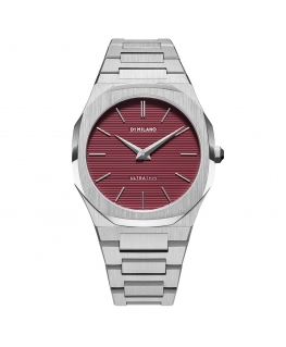 D1 MILANO Ultra Thin rosso - 40 mm