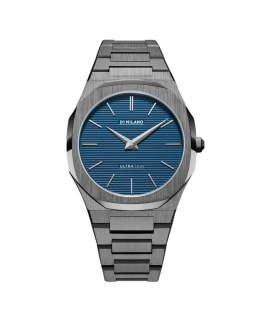 Orologio D1 Milano Ultra Thin blu - 40 mm