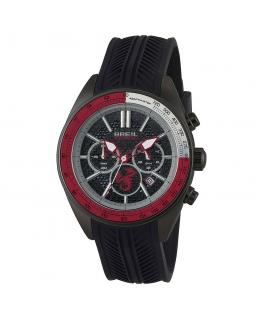 Orologio Breil Abarth crono gomma nero / rosso - 43 mm