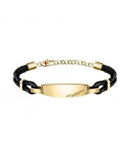 Sector Bandy br.yg wblk leather string 22cm