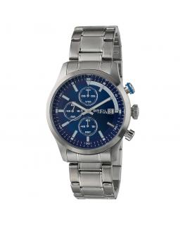 Orologio Breil Drift crono acciaio / blu - 42 mm