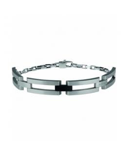 Bracciale Breil Cluster acciaio - 17/22 cm