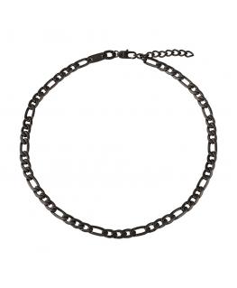 Collana Breil Range nera - 47/52 cm
