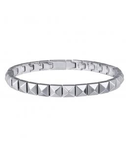 Bracciale Breil Rockers unisex silver - 15/22 cm