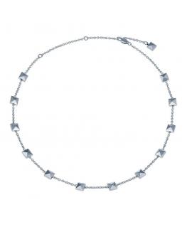 Collana Breil Rockers silver - 39/48 cm