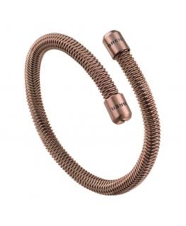 Bracciale Breil New Snake oro rosa