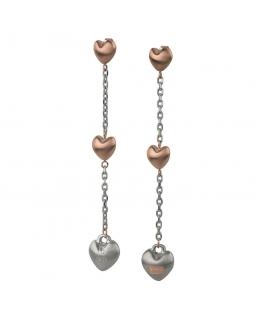 Orecchini Breil Kilos of Love silver - 8 cm