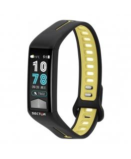 Smartwatch Sector Ex-11 nero verde - 40x20 mm