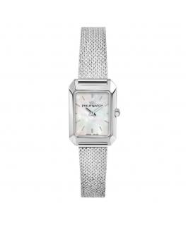 Philip Watch Newport 2h white dial mesh br ss femminile