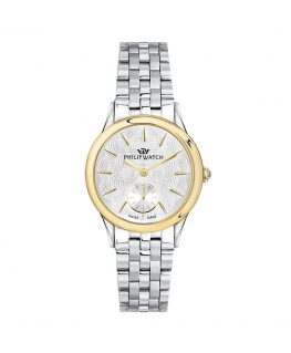 Philip Watch Marilyn 31mm 3h w/silver dial br ss donna