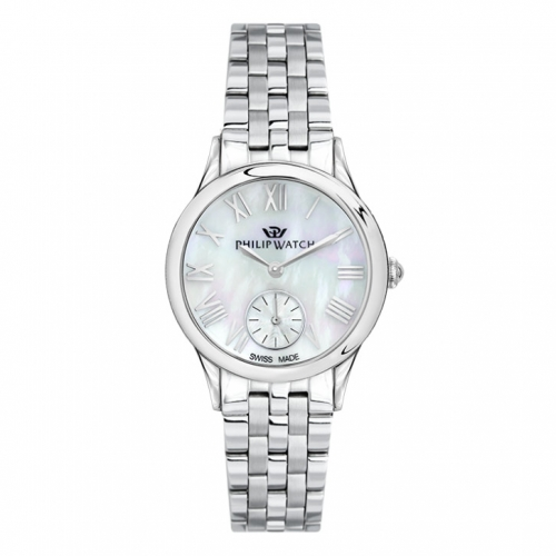 Philip Watch Marilyn 31mm 3h mop natural dial br ss donna
