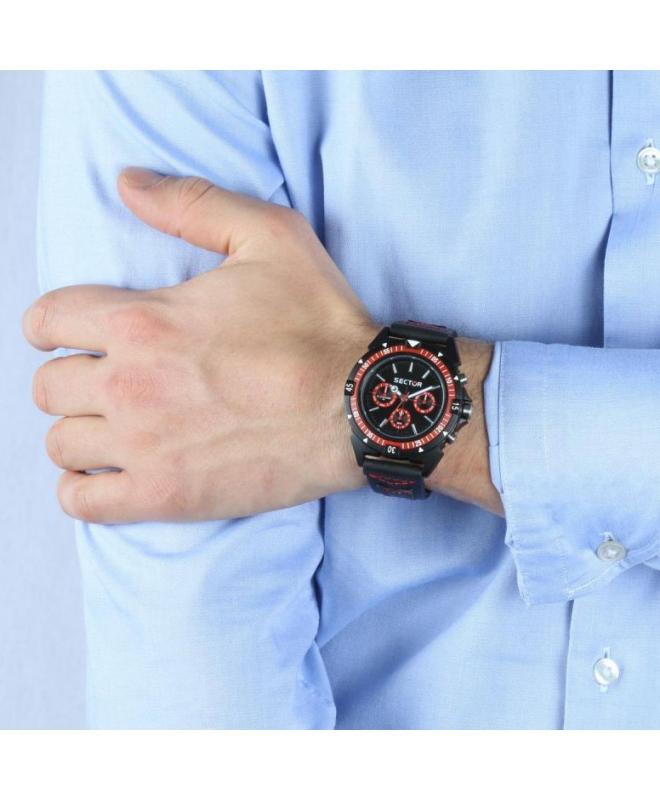 Sector Expander 90 44mm mult black dial/strap uomo R3251197053 - galleria 2