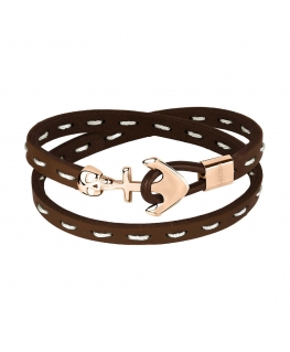 Sector Gioielli Bandy br. brown leather rg buckle uomo SZV19