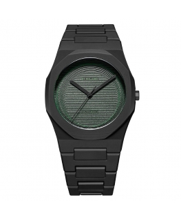 Orologio D1 Milano Polycarbon 3D green - 40.5 mm