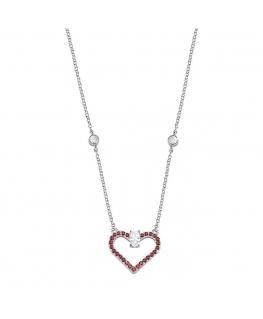 Morellato Cuori argento coll. heart arg.925 donna SAIV01