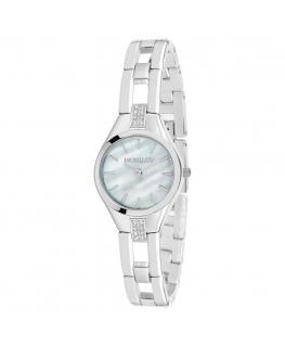 Morellato Gaia 26mm 2h white mop dial br ss donna R0153148504