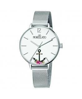 Morellato Ninfa 33mm 3h white dial ss br donna R0153141537