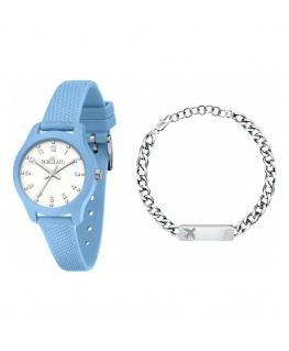 Orologio Morellato Soft azzurro 32 mm