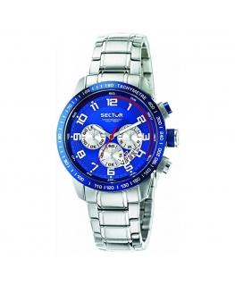 Sector 850 chr blue dial bracelet uomo R3273975001