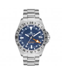 Orologio Lorenz GMT blu - 40 mm