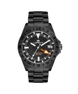Orologio Lorenz GMT brunito - 40 mm