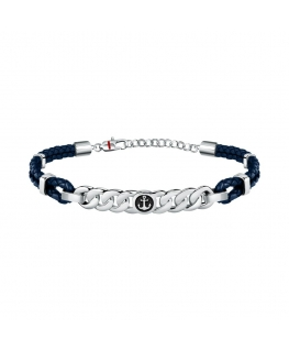 Sector Bandy br.blue leather+anchor symbol 23cm