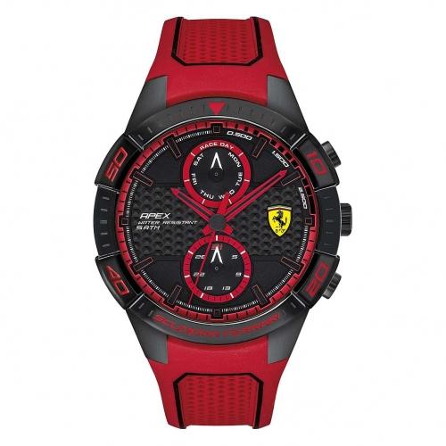 Ferrari Orol ferrari 45.5mm ionic plated black s maschile