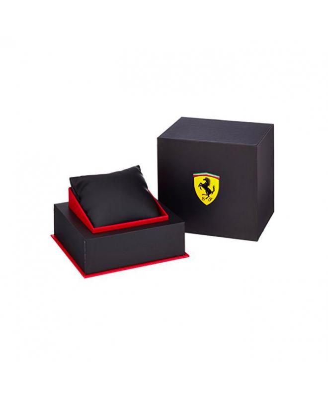Ferrari Orol ferrari 45.5mm ionic plated black s maschile - galleria 2