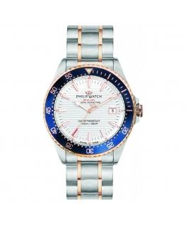 Orologio Philip Watch Sealion acciaio bianco - 42 mm