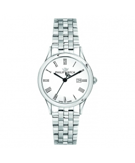 Philip Watch Marylin 31mm 3h white dial ss br donna R8253211501
