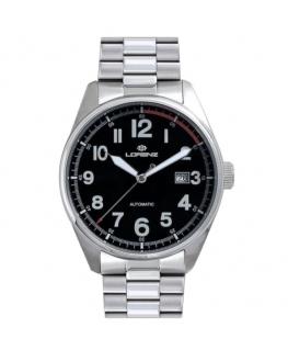 Orologio Lorenz Automatic uomo acciaio nero uomo 17657AA