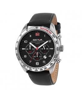 Sector 890 44mm chr black dial black br uomo R3273803003