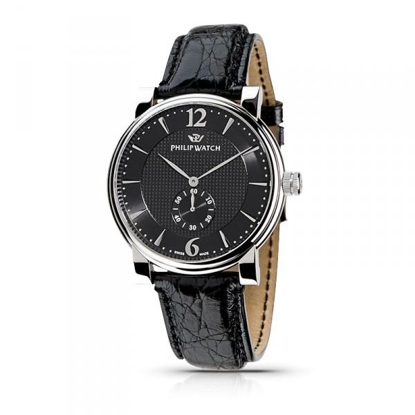 Orologio Philip Watch Wales uomo data nero R8251193025 - galleria 1
