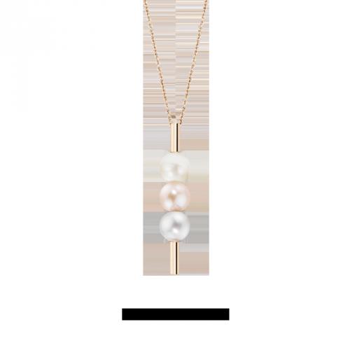 Collana Morellato Lunae donna perle oro rosa donna SADX02