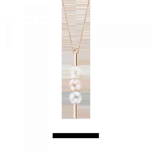 Collana Morellato Lunae donna perle oro rosa donna SADX02 - galleria 1