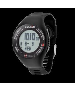 Orologio Sector digitale Cardio nero - 46 mm