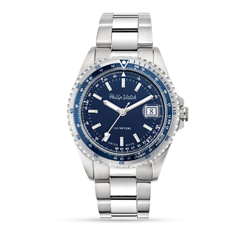 Orologio Philip Watch Caribe blu
