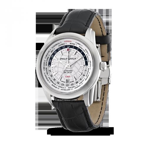 Orologio Philip Watch uomo GMT Seahorse R8251196003